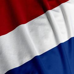 Dutch Flag Closeup