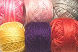 wool strings poster