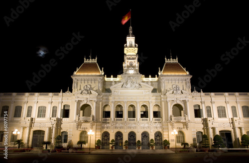People's Committee Building Saigon Ho Chi Minh City Vietnam
