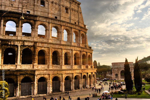 Poster Roma, Colosseo