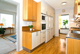 kitchen and livingroom poster