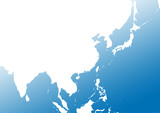 Deep Blue East Asia poster