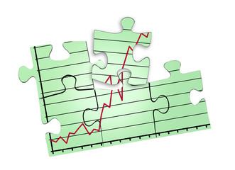 Puzzle-Diagramm