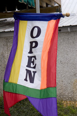 Colorful Open Banner