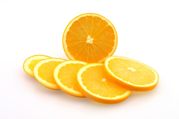 Oranges in Slices