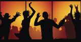 nightclub concept  poster