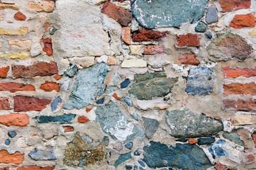 Crude Stone Wall Background