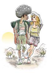 tracking couple