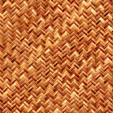 Woven bamboo material poster
