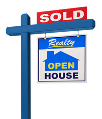 A realestate sign