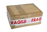 Fragile package poster