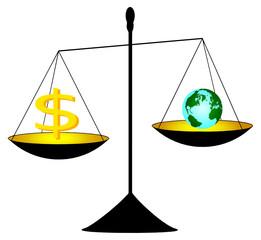 o dinheiro e o mundo