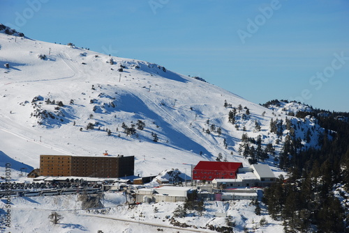 Mountain Hotel for skiing