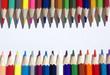 Filas de lápices