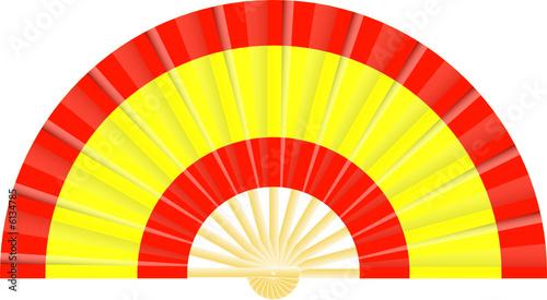 Eventail drapeau de l 39 espagne fichier vectoriel libre de - Comment dessiner le drapeau d angleterre ...