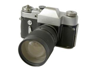 antike, alte foto kamera – fotoapparat