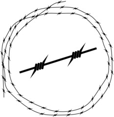 Barbed wire - Circle