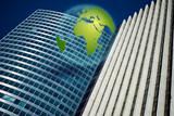 business mondialisation international échange building affaire poster