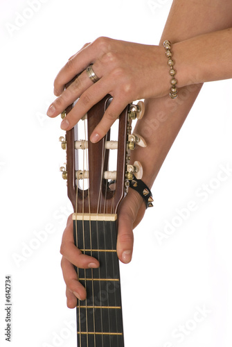 two hands  the guitar