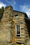 Historic Log Cabin in Cades Cove, TN poster