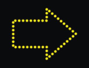 flecha de luces