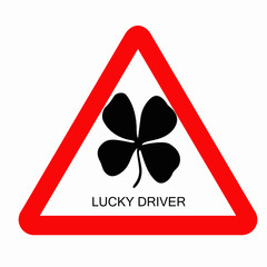 four leaves clover sign