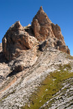 Rocky tower - Dolomites mountain
