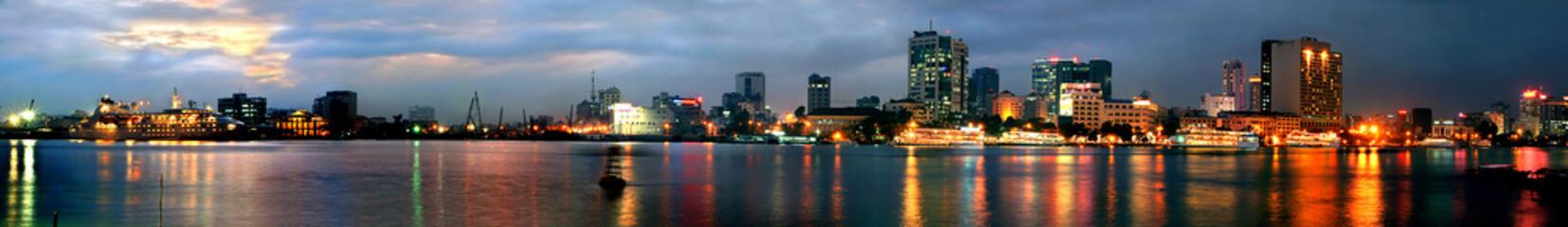 saigon night (panorama)