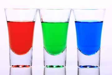 RGB Shot Glasses 002