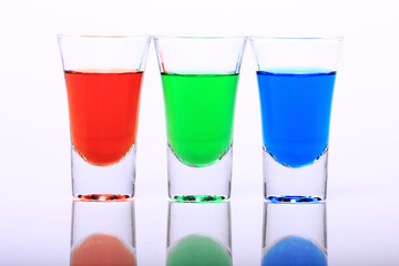 RGB Shot Glasses 003