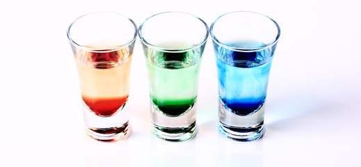 RGB Shot Glasses 004