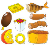 Foodstuffs poster