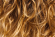 Blonde curly hair - background texture