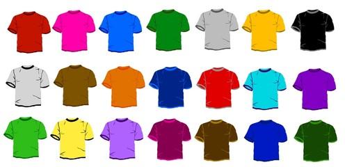 21 t-shirts color