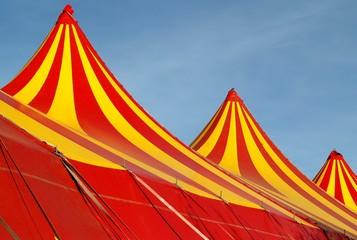 Circus tent tops