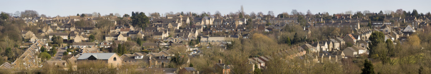 The town of Chipping Norton in the cotswolds