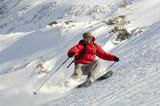 Extreme ski poster
