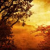 golden sunset-