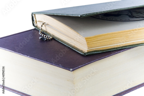 Book  on white background. Isolated object
