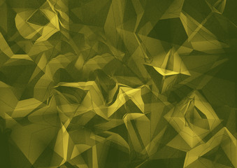 Abstract grunge background of green color