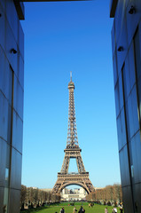 Eiffel tower in Paris,