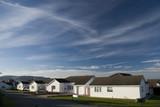 Residences in Llandudno. Wales poster