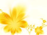 Fototapeta bukiet - ozdoby - Kwiat