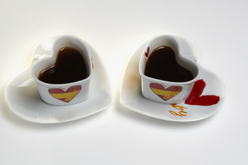 a cup of coffee for valentine