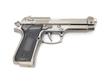 object on white tool - lighter pistols