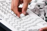 Keyboard assembling poster