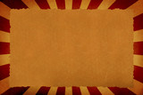 old parchment texture on sunbeam background for your messages poster
