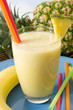 Pineapple banana smoothie