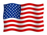 Flag of the United States poster