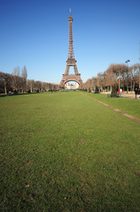 The Eiffel Tower symbol of Paris